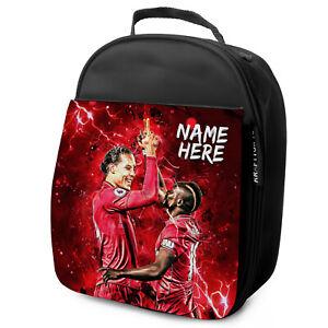 Van-Dijk-melena-Almuerzo-Bolso-Liverpool-Escuela-Nino-Futbol-Lunchbox-Personalizado-NL15