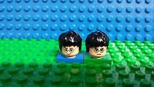Lego Harry Potter flesh minifig head face dual sided glasses Lightning Bolt NEW