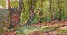 MARCUS ADAMS Watercolour Painting BURNHAM BEECHES LANDSCAPE c1930 IMPRESSIONIST