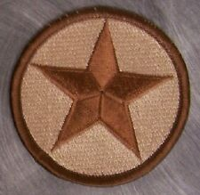 Embroidered Military Patch U S Army Star OPFOR NEW desert