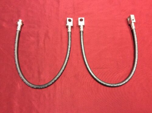 """1966-1977 EARLY FORD BRONCO EXTENDED FRONT & REAR AXLE BRAKE HOSE SET! 3-6"""" LIFT"""