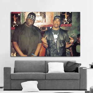 tupac 2pac rap hip hop poster wall mural print on paper gallery for gt hip hop legends mural