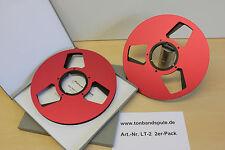 """Tonbandspule 10,5""""  NAB -1 Paar - für Revox, Studer, Teac, Akai  -Art-Nr. LT-2 -"""
