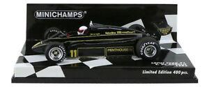 Minichamps Lotus Ford 91 1982 - Elio De Angelis 1/43 Echelle: 4012138134010