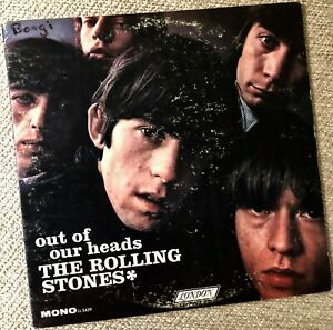 """ROLLING STONES """"Out Of Our Heads""""  --  Orig. 1965 Mono London LP -First Pressing"""
