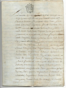 1777-4p-parchment-sale-contract-manuscript-document-perfect-shape-ready-to-frame