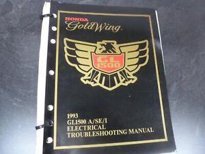 [WLLP_2054]   1993 Honda Gold Wing Motorcycle Electrical Wiring Diagram Troubleshooting  Manual | eBay | 1993 Honda Goldwing Wiring |  | eBay