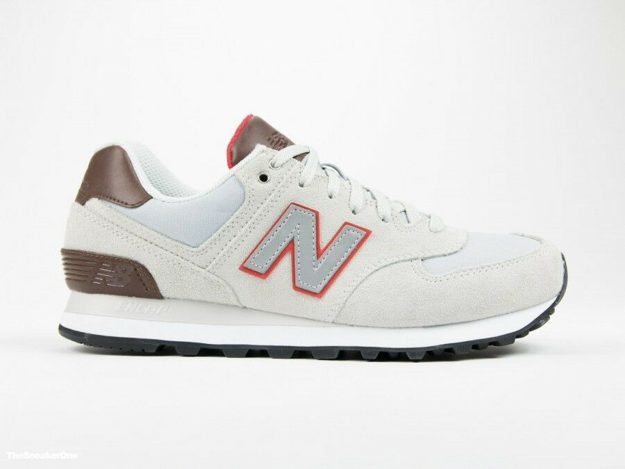 New Balance ML574BCA Classic traditionnels men's shoes grey NWB