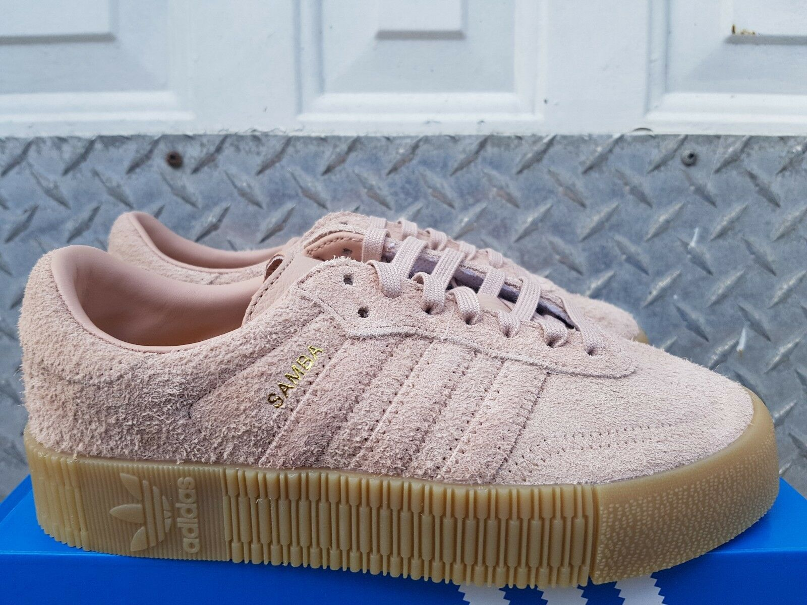 NEW IN THE BOX ADIDAS SAMBApink W B37861 SHOES FOR WOMEN