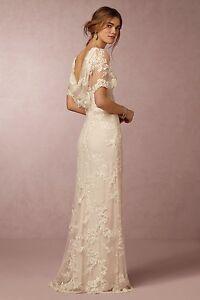 Image Is Loading Bhldn Estella Wedding Dress Size 12