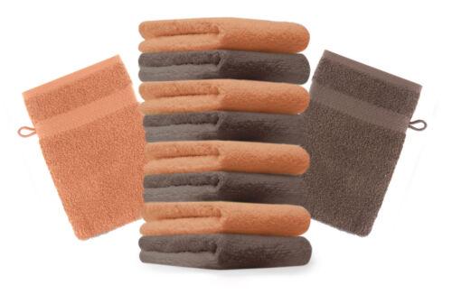 BETZ 10er Pack Laver Gants Premium Couleur Orange /& Noix Taille 16x21 cm