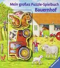 Mein großes Puzzle-Spielbuch Bauernhof von Anne Möller (2016, Gebundene Ausgabe)