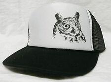 Owl Trucker Trucker Hat mesh hat snapback hat