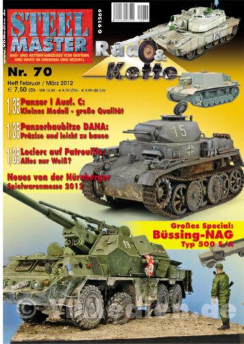 STEELMASTER 70 Büssing-NAG Typ 500 S//A Teil 1 Kampfpanzer Leclerc Panzer I
