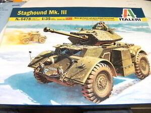 Italeri 6478 1:35 Panzerspähwagen Staghound Mk.III NEU