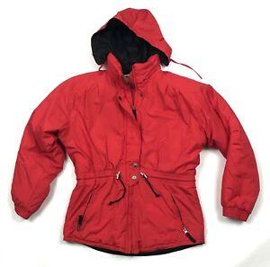 2641bfe4b1cc Vintage Obermeyer Red Ski Snowboard Jacket Juniors Girls Size 18