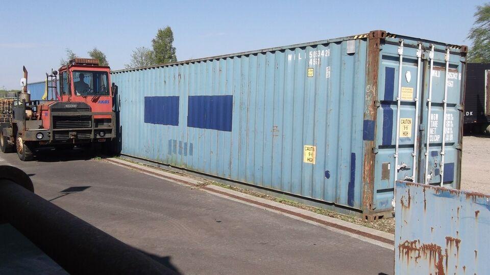 """Skibscontainer 40"""" HC KØBES"""