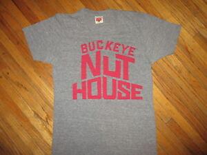 Ohio-Estado-Buckeyes-Nuthouse-Camiseta-Baloncesto-Schott-Homage-Rayon-Tri-Blend