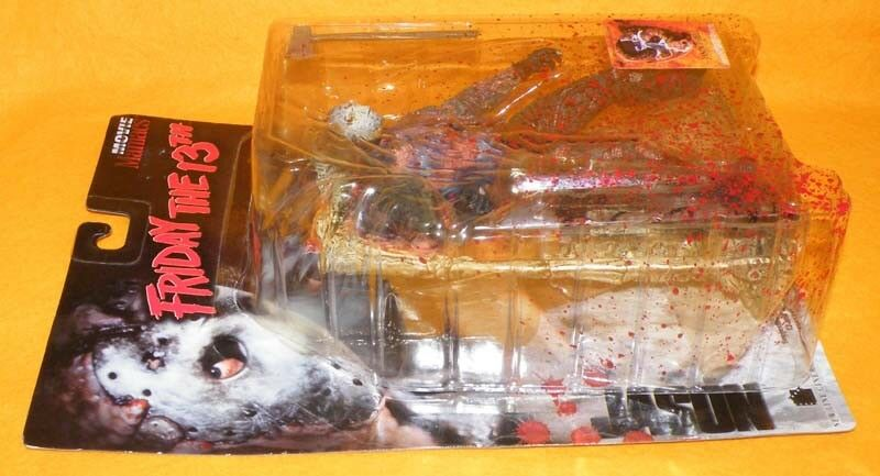 1998 McFARLANE MOVIE MANIACS FRIDAY THE JASON 13TH JASON THE VOORHEES FIGURE OPEN CARDED 8fcf3a