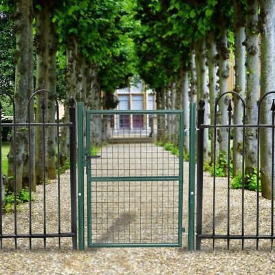 Gartentor Gartentür Zauntür Garten Gartenzaun Stahlrohr Hoftor Hoftür Verzinkt