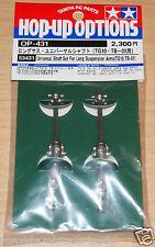 Tamiya 53431 Universal Shaft Set for Long Suspension Arms (TG10/TB01/TB Evo) NIP