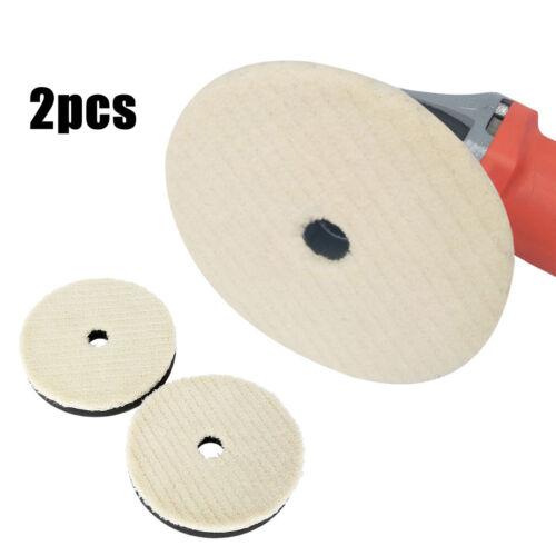 2 x Car Care Woolen Polishing Pad  Cleaning Waxing Buffing Kit For car polishing