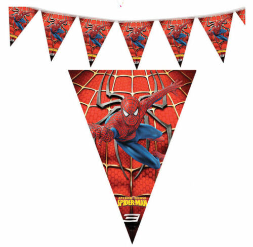Spider-Man Birthday Banners collection on eBay!
