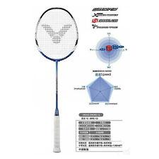 VICTOR Badminton Racket Racquet BRAVE SWORD 12 4UG5 Graphite Unstrung Blue