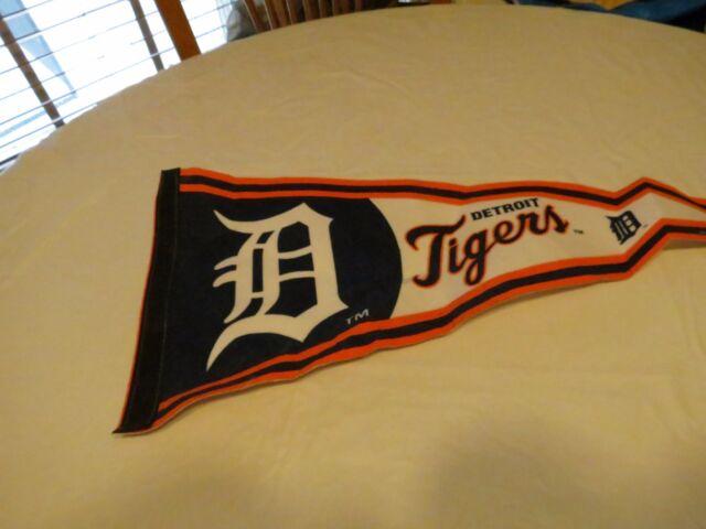 Detroit Tigers baseball banner NBL wincraft MLBP 2008 flag made in USA RARE
