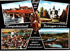 Trompeterstadt Säckingen am Hochrhein  ,Ansichtskarte