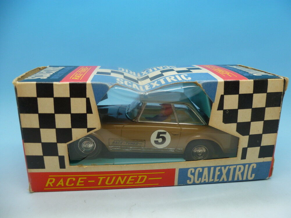 Scalextric C32 Mercedes Race Tuned, mint car and superb box