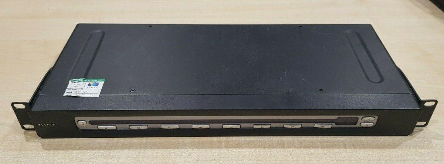 BELKIN OmniView PRO2 BELKIN 8-Port KVM Switch F1DA108T
