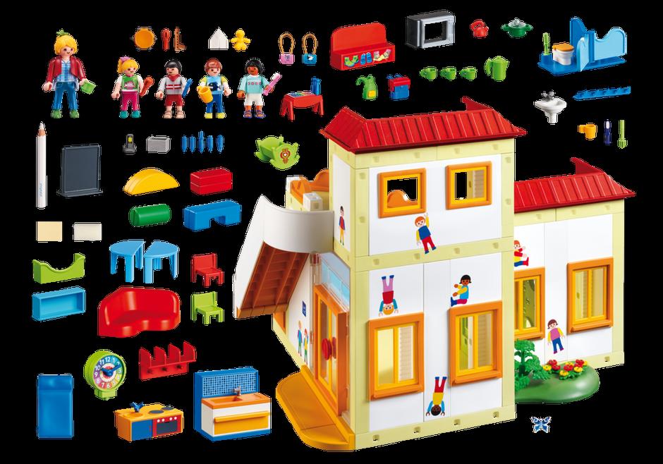 Playmobil City Life 5567 Kindergarten Kinder- - Neu Neu Neu und Sealed eef830