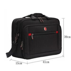 b9cde64611cb Details about Men Swiss Gear Waterproof Laptop Briefcase Bags Computer  Bussiness Handbag 14