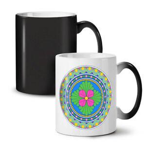 Mandala Colorful NEW Colour Changing Tea Coffee Mug 11 oz | Wellcoda