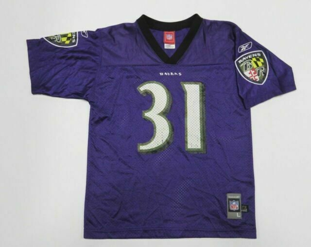 Youth NFL Jersey Baltimore Ravens Ray Rice Size Large 14/16