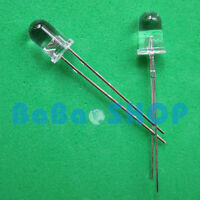20/50/100/200pcs 5mm 940nm IR Infrared Launch Emitter Diode Photodiode LED Lamp