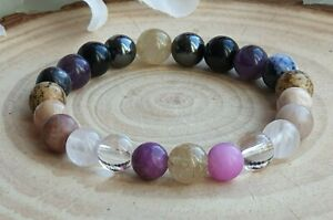 GRIEF, BEREAVEMENT AND LOSS SUPPORT - CRYSTAL HEALING GEMSTONE BRACELET