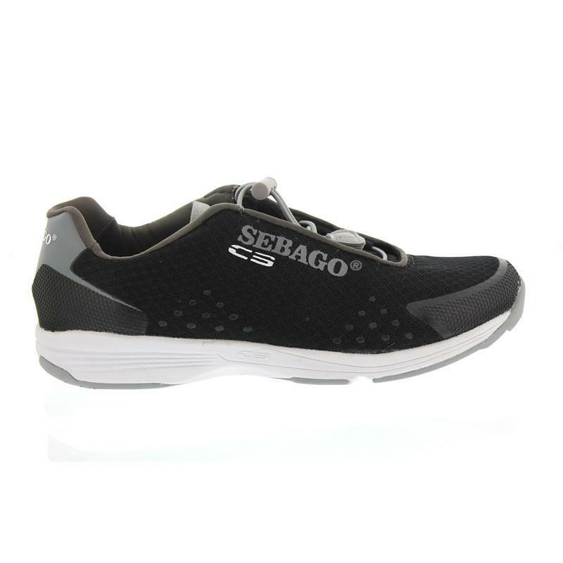 Sebago Cyphon Sea Sport, Black   Grey Textile B821004 Men