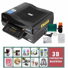 3d Muti Fuction Intelligent Vacuum Sublimation Heat Press Machine Black Color Th