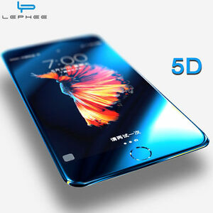 best sneakers e024e 1f288 Details about 4D 5D 6D Full Cover Tempered Glass Screen Protector Film For  iPhone 7 6S X Plus