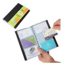 120 Sheets Card Positon Book Id Card Business Id Holder Book
