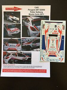 DECALS-1-43-PEUGEOT-207-S2000-PETTER-SOLBERG-RALLYE-MONTE-CARLO-2011-WRC-RALLY