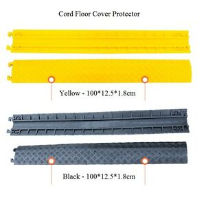 pvc rubber duct wire cable cord drop over floor cover. Black Bedroom Furniture Sets. Home Design Ideas