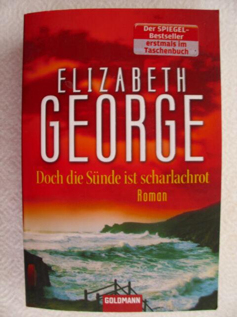 Doch die Sünde ist scharlachrot von Elizabeth George (TB)
