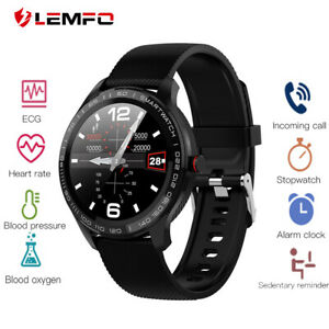 Lemfo-L9-Reloj-Inteligente-Podometro-Frecuencia-Cardiaca-Podometro-Smart-Watch