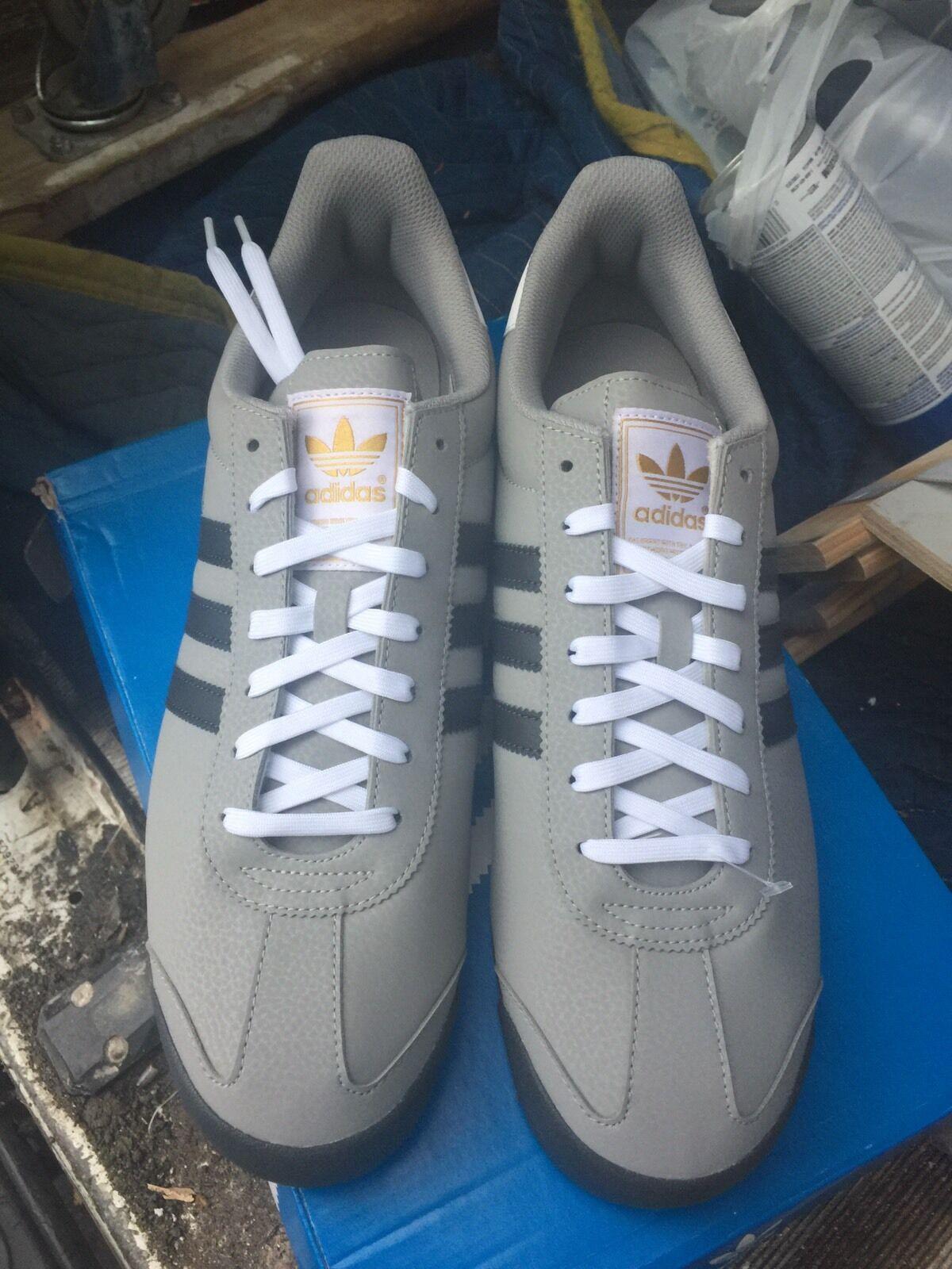 Uomo Adidas Samoa Grey / Charcoal