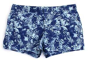 Calvin Klein Jeans Blue Floral Casual Shorts Women's NWT