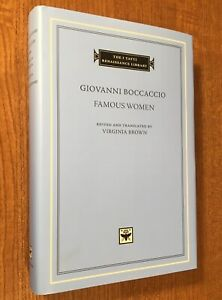 FAMOUS-WOMEN-by-Giovanni-Boccaccio-The-I-Tatti-Renaissance-Library-HC-DJ