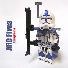 LEGO Custom Clone Trooper - Fives - commander mini figure rex cody ARC
